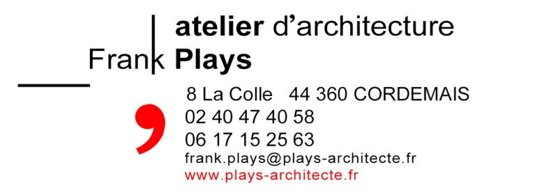 carte de visite plays architecte